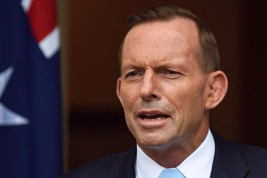 Australian Prime Minister Tony Abbott on Saturday pleaded with Indonesia to heed Australia's call for clemency for two death-row convicts, and warned that Canberra would make its displeasure known should the executions go ahead. -- PHOTO: EPA
