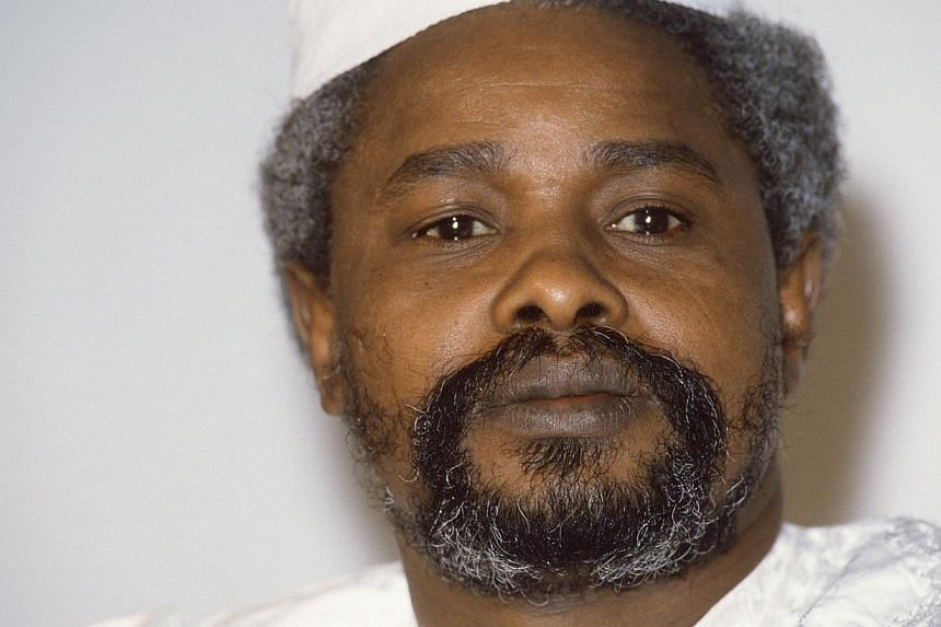 A 1987 file picture shows Chad's then president Hissene Habre. Senegalese authorities on Friday ordered Habre to appear before a special tribunal to stand trial for torture, war crimes and crimes against humanity. -- PHOTO: AFP