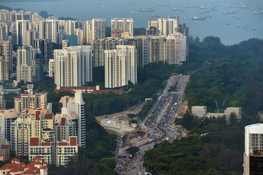 High rise private condominiums on the Singapore East Coast. The Urban Redevelopment Authority (URA) is set to release new home sales figures for January this week. -- PHOTO: ST FILE