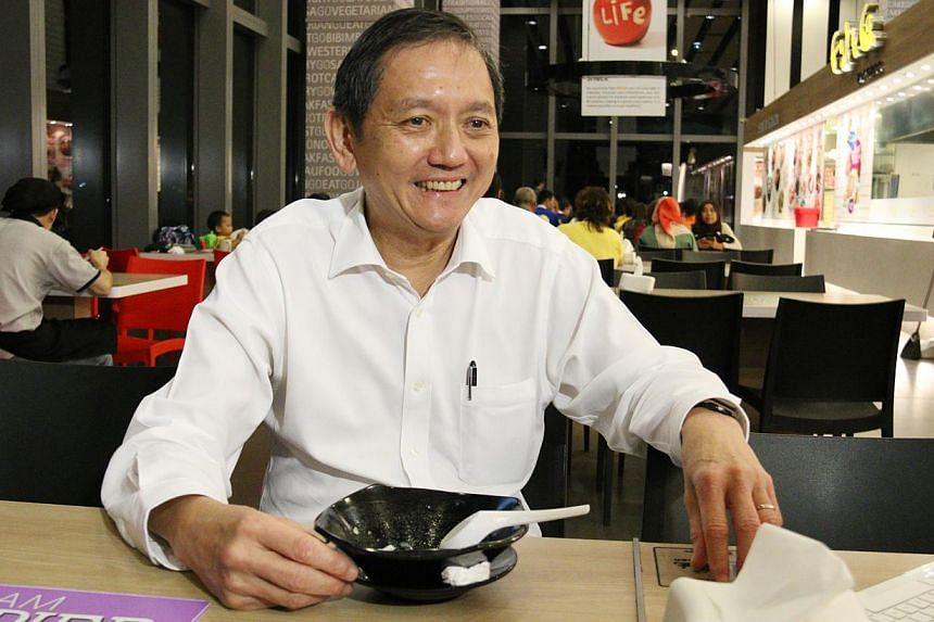 Liak Teng Lit, head of the Public Hygiene Council and Keep Singapore Clean movement. -- ST PHOTO: KEMBURAJU THANGARAJAN