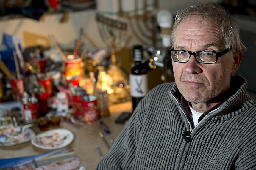 Controversial Swedish artist Lars Vilks. He says that when he drew Prophet Muhammad as a dog in 2007, the cartoon - which earned him death threats from radical Islamists and may have triggered a weekend attack in Copenhagen - was not intended to prov