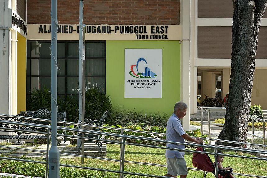 The Aljunied-Hougang-Punggol East town council (AHPETC) at Block 701, Hougang Ave 2. Workers' Party chairman Sylvia Lim said its immediate priority is toget the town council's accounts audited and submitted to the Ministry of National Developme