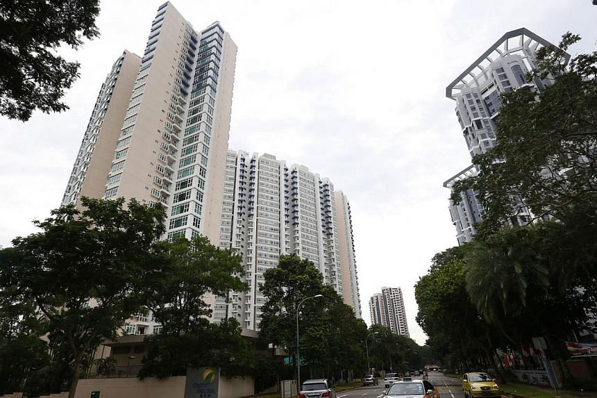 Condominiums Costa del Sol and The Bayshore. Home buyers picked up more units in January as developers put out more residential projects for sale after the year-end lull.-- ST PHOTO: KEVIN LIM