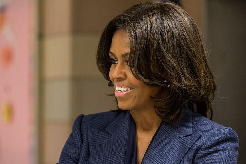 US First Lady Michelle Obama is set to visit Japan in March for the first time since her husband Barack Obama entered the White House, local media reported Monday, Feb 16, 2015. -- PHOTO: AFP