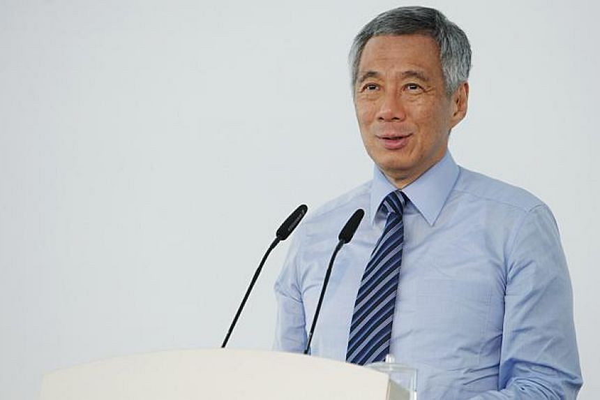 Prime Minister Lee Hsien Loong will be on medical leave for a week and is expected to recover fully. -- PHOTO: REUTERS