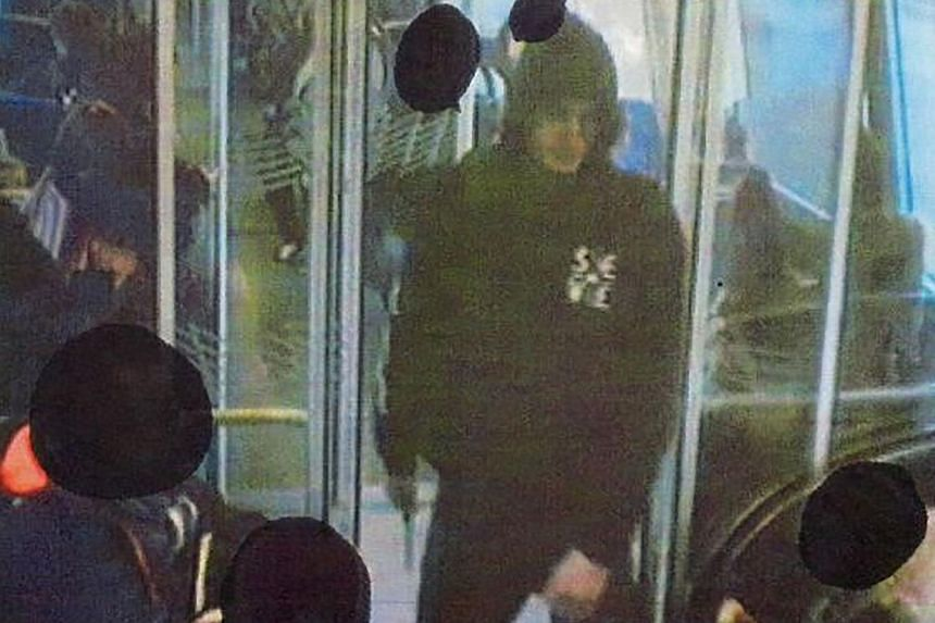 An undated picture released by Copenghagen police in 2013 shows the man, whom Danish media identified as 22-year-old Omar El-Hussein,suspected of killing two people in shootings in Copenhagen.-- PHOTO: AFP