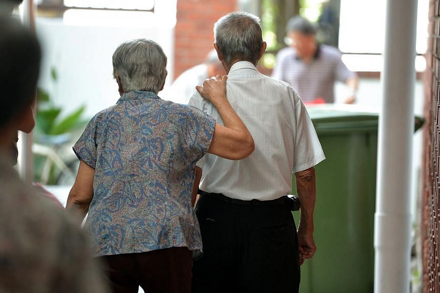 The Silver Support Scheme (SSS) aims to top up the incomes of Singaporeans aged 65 or above who have not accumulated sufficient retirement savings during their working life. -- ST PHOTO: KUA CHEE SIONG