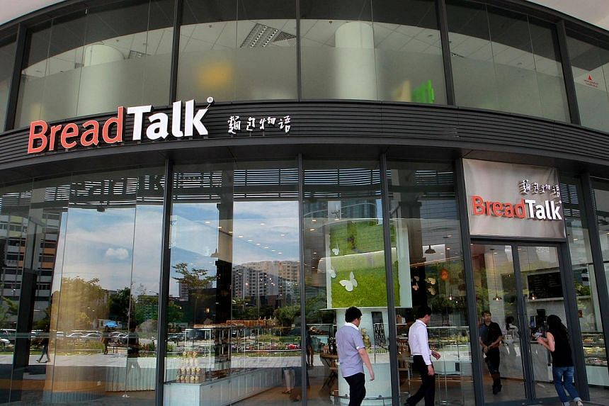 BreadTalk Group's International Headquarters in Paya Lebar iPark at Tai Seng Street. BreadTalk Group's fourth quarter net profit shrank by 30.8 per cent to $3.8 million. -- PHOTO: ST FILE