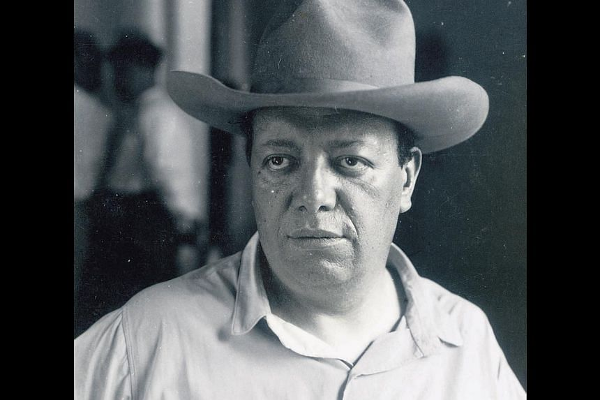 Diego Rivera was Mexico's most prolific and renowned post-revolutionary artist. -- PHOTO: ARCHIVES OF THE STATE OF VERACRUZ/JOAQUIN SANTAMARIA FOUNDATION