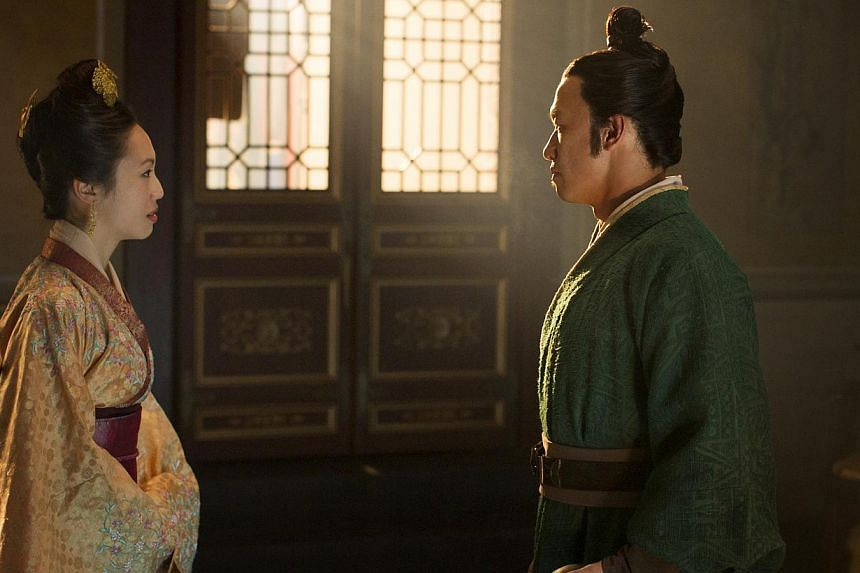 A still from Marco Polo, starring Oon Shu An and Chin Han. -- PHOTO: PHIL BRAY FOR NETFLIX