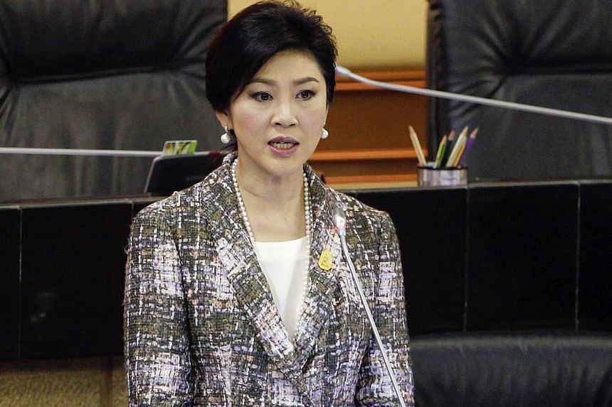 Thai politics is heating up again following the impeachment of former prime minister Yingluck Shinawatra (seen above) for dereliction of duty. --PHOTO: REUTERS