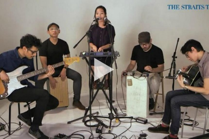 Homegrown quintet sub:shaman are no ordinary upstarts in the homegrown indie music scene. -- PHOTO: VIDEO SCREENGRAB