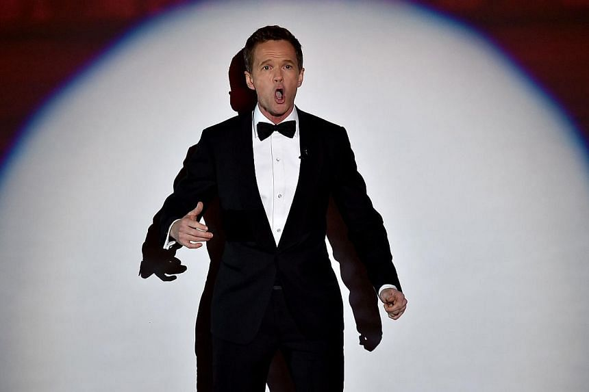 Oscars host Neil Patrick Harris on the lack of diversity among the nominees. -- PHOTO: AGENCE FRANCE-PRESSE