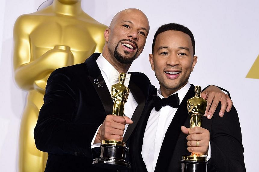 John Legend (right) and Common (left). -- PHOTO: EUROPEAN PRESSPHOTO AGENCY