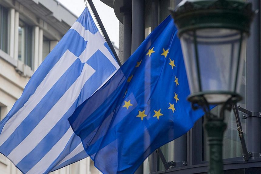 Greece sent a list of economic reform plans to European institutions and the International Monetary Fund around midnight, a source close to the European Commission said on Tuesday, Feb 24, 2015. -- PHOTO: REUTERS