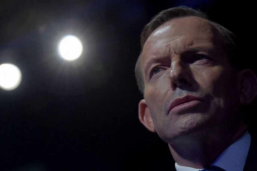 "Australian Prime Minister Tony Abbott says he feels he is at the ""height of his powers"" as a new poll shows him gaining on the opposition, despite reports that conservative colleagues may still move to dump him. -- PHOTO: EPA"