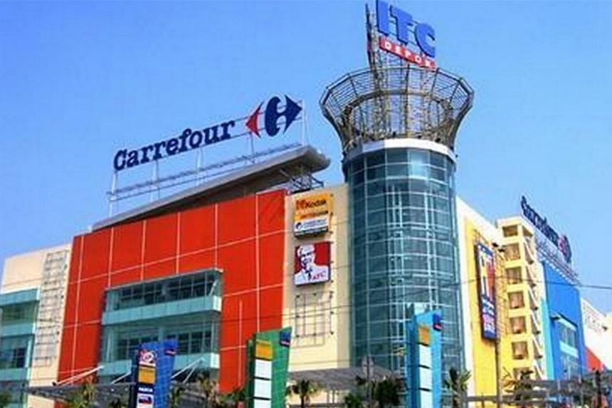 The explosion, which occurred at a children's play area on the second floor of ITC Depok Mall, caused panic among shoppers. -- PHOTO: WIKIMAPIA