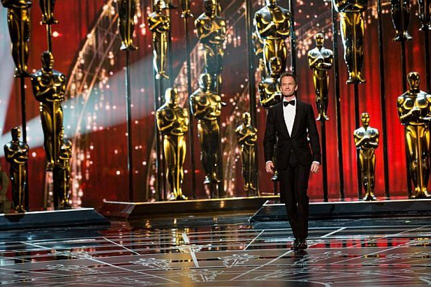 Host Neil Patrick Harris hosts the 87th Annual Academy Awards at Dolby Theatre on Feb 22, 2015 in Hollywood, California. -- PHOTO: AFP