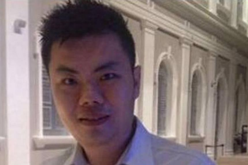 The police are appealing for information on a man (above) suspected of being involved in a case of criminal breach of trust. -- PHOTO: SINGAPORE POLICE FORCE
