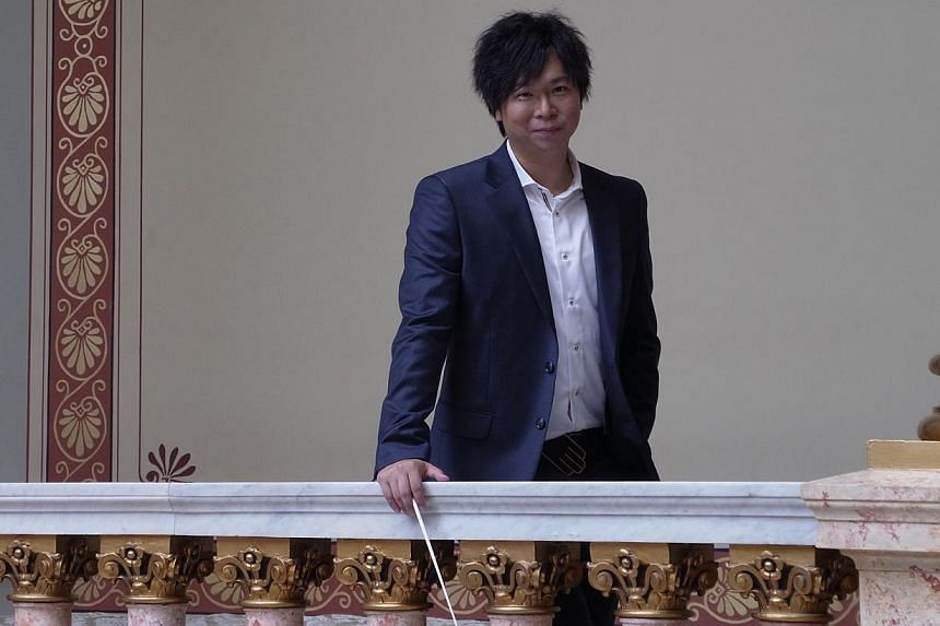 Awardwinning Singaporean conductor Wong Kah Chun has had concerts in at least 20 cities around the world. -- PHOTO: SSO