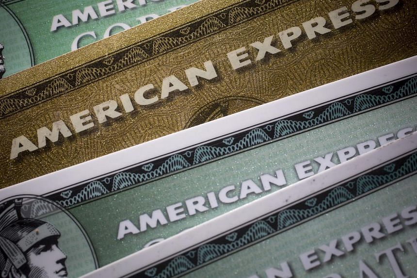 American Express said itsannual interest rates will climb an average of 2.5 percentage points to at least 12.99 per cent, following a review last year. -- PHOTO: BLOOMBERG