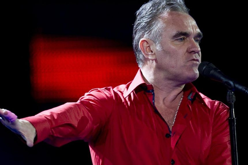 Morrissey (above) will perform four shows at the Sydney Opera House as the famously gloomy British singer headlines a festival of light. -- PHOTO: AFP