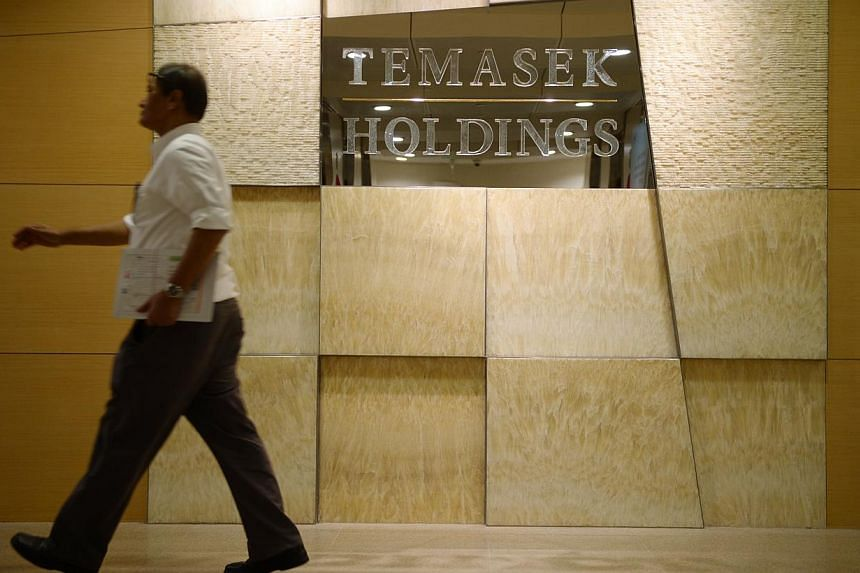 The substantial addition to the net investment returns contributions reflects the large capital-gains component of Temasek's equity-dominated portfolio returns.