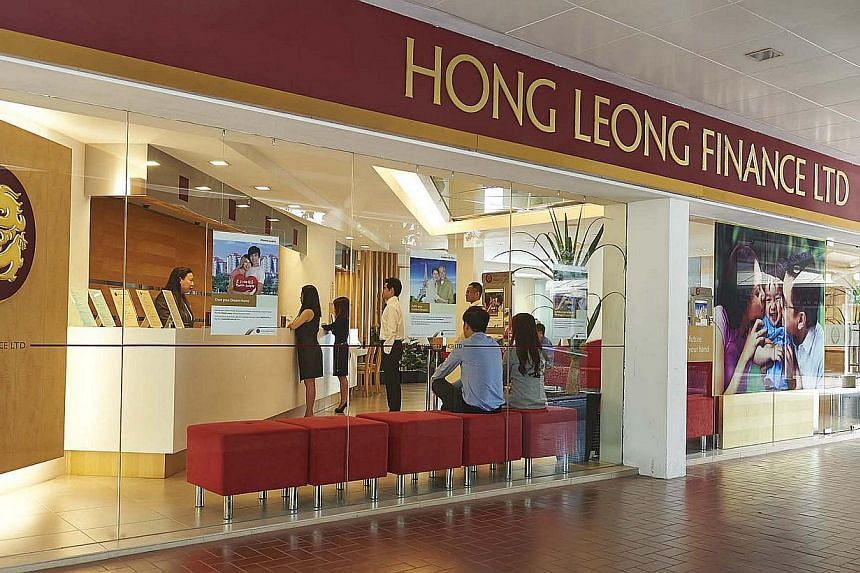 A general provisions charge and lower non-interest income hit Hong Leong Finance's bottom-line. -- PHOTO: HONG LEONG FINANCE