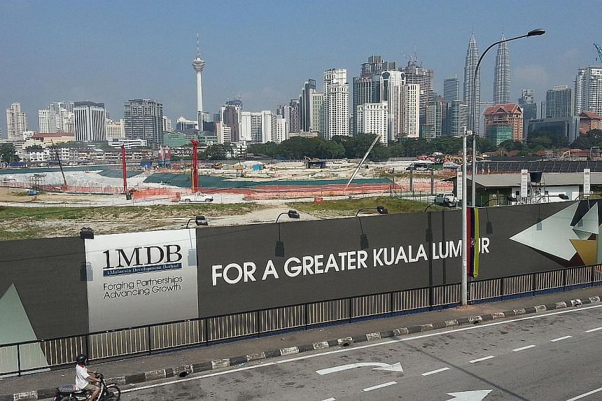 Site of the Tun Razak Exchange financial district project in Kuala Lumpur, on Feb 12, 2015. -- ST PHOTO: REME AHMAD