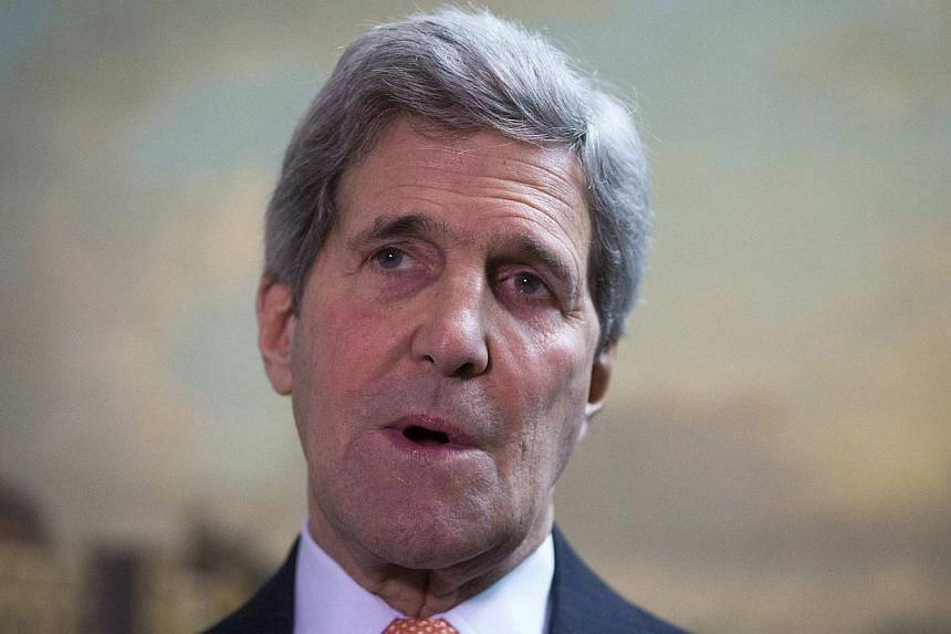 "Neither Russia nor the pro-Moscow rebels in Ukraine have even ""come close"" to fulfilling the terms of a tattered ceasefire deal, US Secretary of State John Kerry (above) said Wednesday. -- PHOTO: REUTERS"