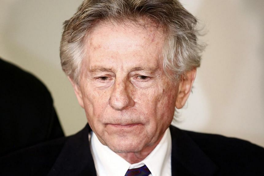 Film-maker Roman Polanski speaking to the media after a court hearing in Krakow on Feb 25, 2015. -- PHOTO: REUTERS