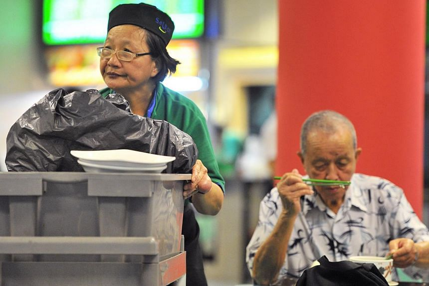 The Silver Support Scheme, combined with the enhanced Central Provident Fund scheme, will go a long way in providing a steady stream of income for all retirees, including the less well-off. -- PHOTO: LIM YAOHUI FOR THE STRAITS TIMES
