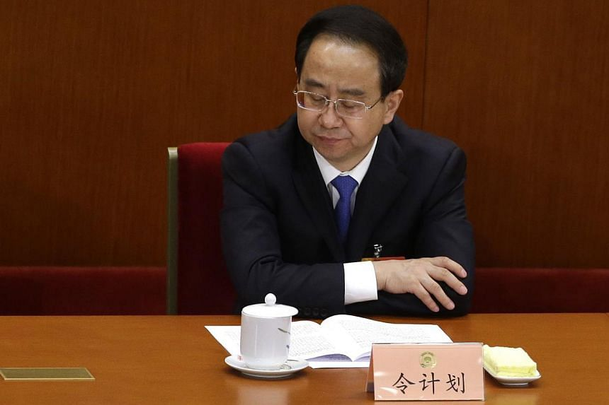 China expelled a disgraced senior aide to former President Hu Jintao from a high-profile advisory body on Saturday, the official Xinhua news agency reported on its website, marking the latest step in a significant political scandal. -- PHOTO: REUTERS