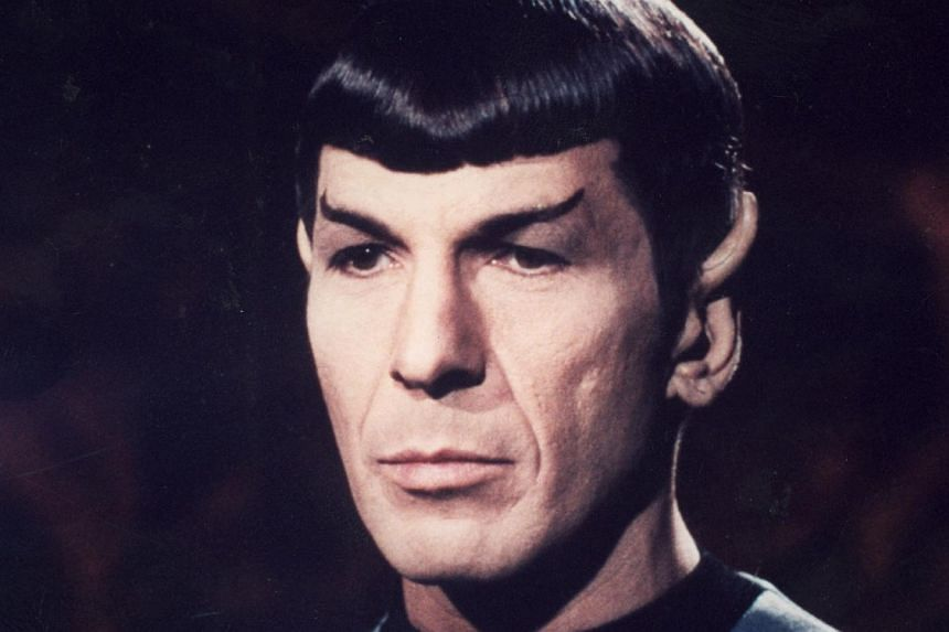 Actor Leonard Nimoy, who won a worldwide fan base as the pointy-eared half-human, half-Vulcan Mr Spock (above) in the blockbuster Star Trek television and film franchise, died Friday at age 83, US media reported. -- PHOTO: PARAMOUNT
