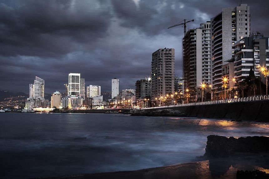 Sunset at the Corniche (above), a pedestrian boulevard that wraps itself around the coastline in Beirut, is not to be missed. -- PHOTO: GETTY IMAGES