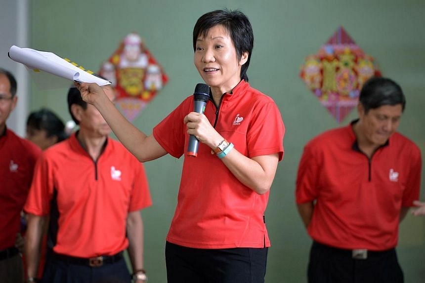 The People's Action Party Women's Wing, chaired byMinister in the Prime Minister's Office Grace Fu, iscalling for more support for stay-home mothers with little savings in their Central Provident Fund (CPF) accounts.-- P