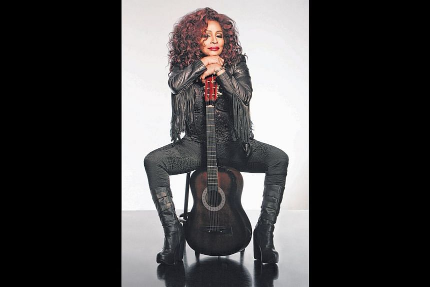 Grammy winner Chaka Khan will be doing a collaboration with British acid jazz pioneers Incognito in the opening gala show on Thursday. -- PHOTO: SINGAPORE INTERNATIONAL JAZZ FESTIVAL