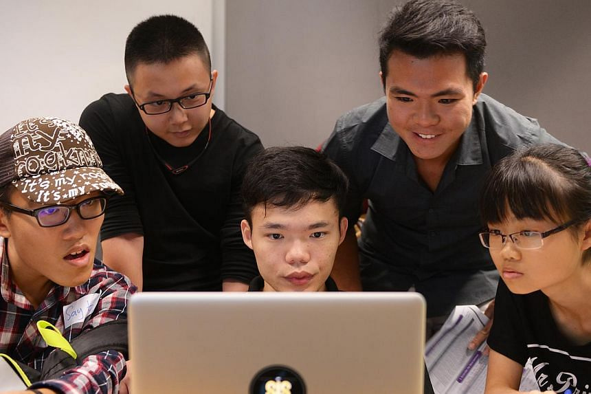 Besides a two-day open house this weekend, SMU also runs half-day immersion camps for prospective students interested in accountancy and information systems management, allowing them to learn about the programmes through various activities such as ga