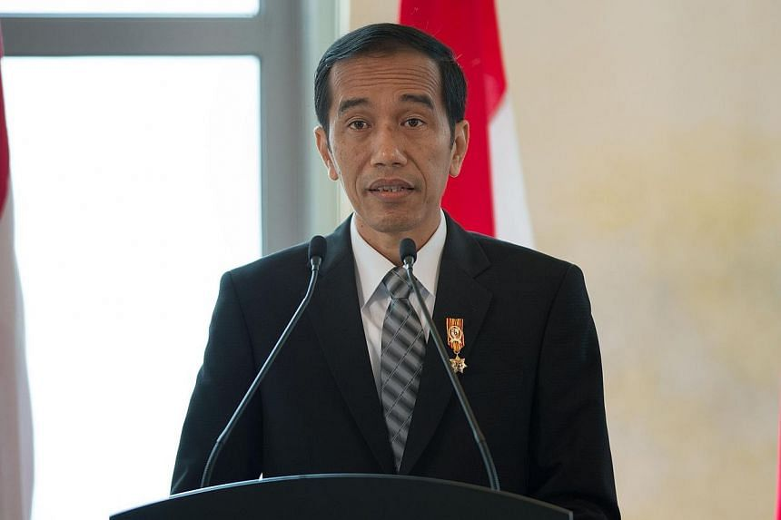 Indonesian President Joko Widodo said on Monday, March 2, 2015, that the fall in consumer prices signalled that there was room for another interest rate cut, but the decision was up to the central bank. -- PHOTO: AFP