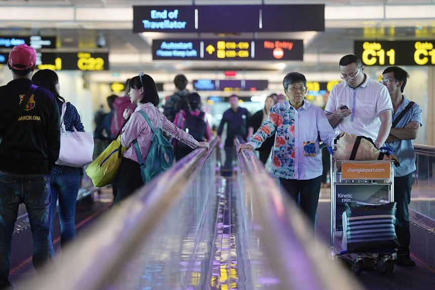 Changi Airport Group (CAG) announced on Tuesday that it has awarded a $323-million contract to Takenaka Corporation for works related to the expansion of Changi Airport's Terminal 1 (T1). -- ST PHOTO: MARK CHEONG