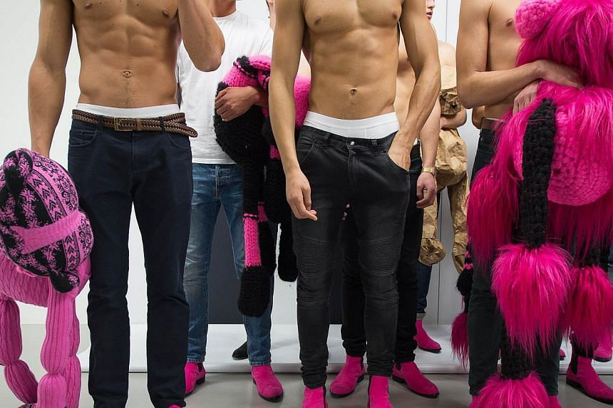 """What is an """"average"""" size for a penis? The enduring question now has a scientific answer, according to an analysis of more than 15,000 appendages around the world. -- PHOTO: AFP"""