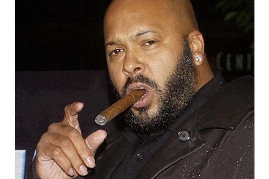 """Rap mogul Marion """"Suge"""" Knight, the head of Death Row Records, in Los Angeles in this Nov 7, 2002 photo.-- PHOTO: REUTERS"""