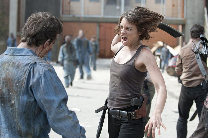 Television still: The Walking Dead Season 3. -- PHOTO:FOX MOVIES PREMIUM