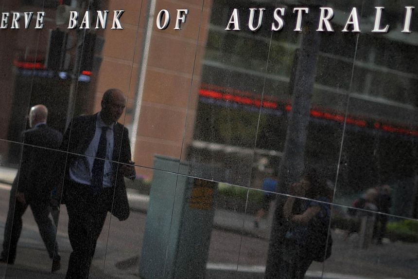 Australia's central bank kept its cash rate steady at a record low of 2.25 per cent on Tuesday, surprising some who had looked for another easing to follow February's cut. -- PHOTO: AFP