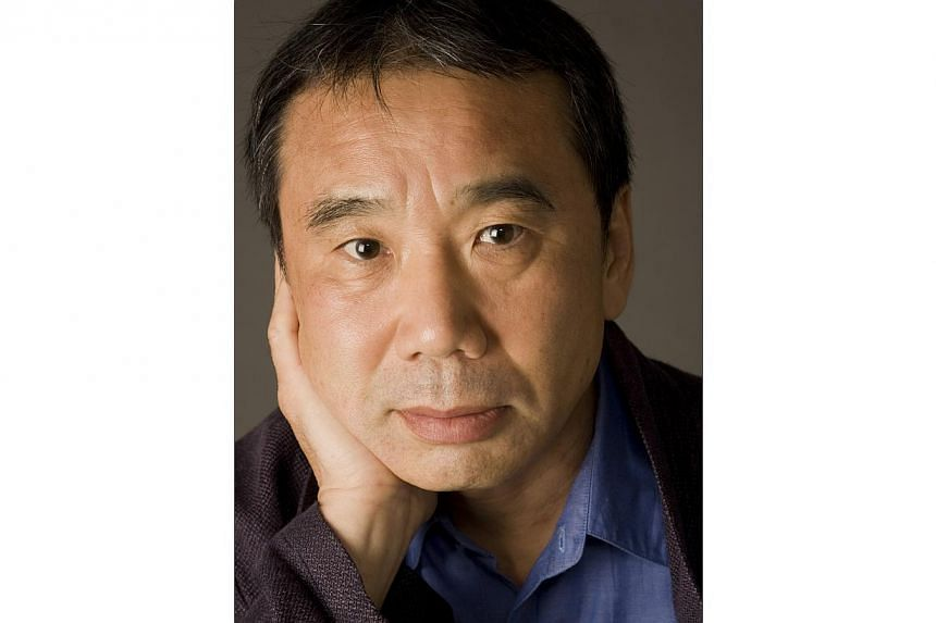 Japanese novelist Haruki Murakami says he regrets that Hong Kong's democracy protests did not bring the changes demanded by demonstrators, but their actions were not in vain. -- PHOTO:HARVILL SECKER