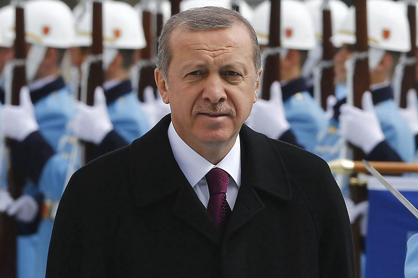 Every meal that goes before Turkish President Recep Tayyip Erdogan (above) is rigorously tested both at home and abroad for fear of possible assassination, his personal doctor said.And now a special food analysis laboratory will be built at Erd