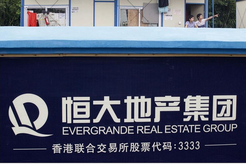 An Evergrande construction site in Guangzhou, Guangdong province, China, photographed on June 22, 2012. On March 3, 2015, Australia annouced it was forcing the Chinese owner of a A$39million ($41.4 million) Sydney mansion to sell within 90 days. -- P