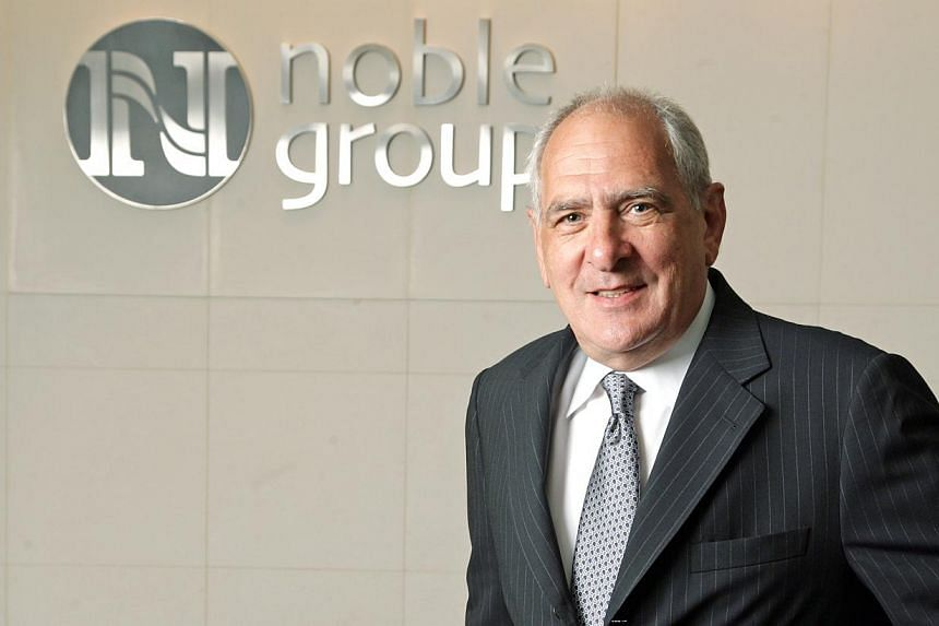 Mr Richard Elman, chief executive officer of Noble Group. -- PHOTO: NOBLE GROUP