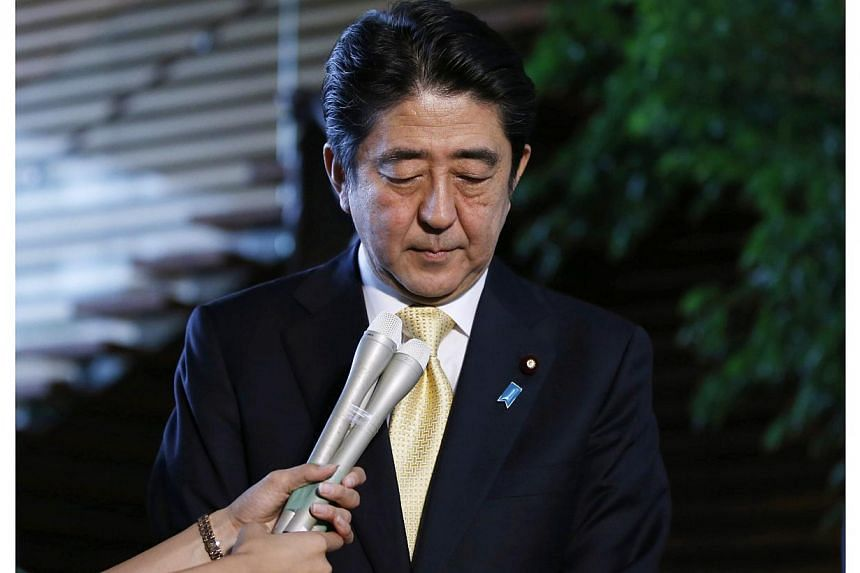 Japanese Prime Minister Shinzo Abe on Monday said he received donations from firms that got government subsidies, the first time he himself has faced questions about potentially improper donations, after having lost three cabinet members to scandals.