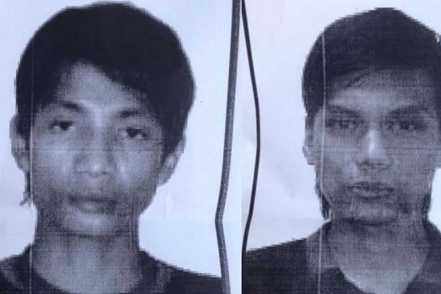 The two Malaysians spotted in an Islamic State in Iraq and Syria (ISIS) beheading video have been identified as Muhamad Wanndy Muhamad Jedi (left) and Mohd Faris Anwar. -- PHOTO: THE STAR/ASIA NEWS NETWORK